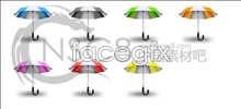 Link toSummer sun umbrella icons