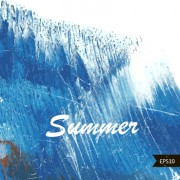 Link toSummer watercolors vector background art 04 free