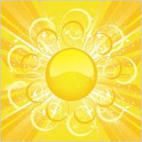Link toSun sun background vector 3