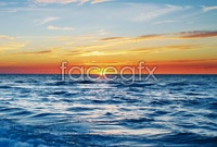 Link toSunrise at sea scenery of high definition pictures