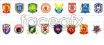 Link toSuper club logo vector