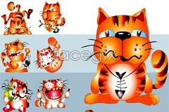 Link toSuper cute cartoon cat vector