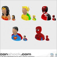 Link toSuper heros vista icons icons pack