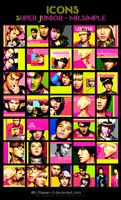 Link toSuper junior - mr.simple icons