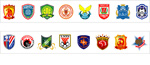 Link toSuper league club logo vector