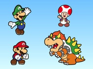 Link toSuper mario bros characters vector free