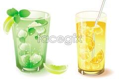 Link toSuper refreshing feeling of summer fruit, vector