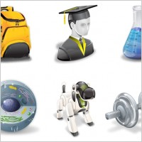 Link toSuper vista education icons icons pack