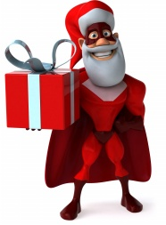 Link toSuperman gift box christmas hd pictures