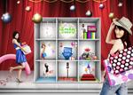 Link toSupermarket promotional posters psd