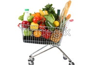 Link toSupermarket shopping cart high definition pictures
