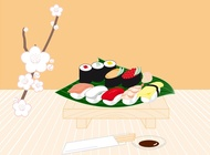 Sushi vector free