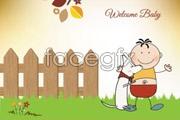 Link toSweet cartoon vector