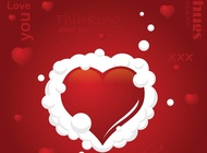 Link toSweet love card vector free