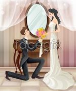 Link toSweet marriage vector _80