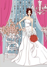 Link toSweet marriage vector _97