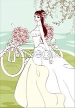 Link toSweet marriage vector _98