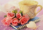 Link toSweet roses psd