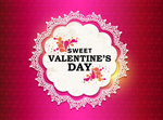 Link toSweet valentine decorated vector