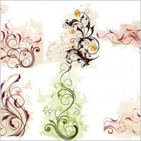 Link toSwirl flower vector