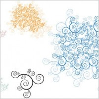 Link toSwirl ornaments free vector