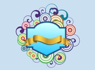 Link toSwirling banner vector free