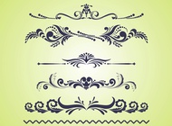 Link toSwirling floral vectors free