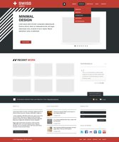 Link toSwiss agency web template