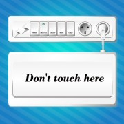 Switch design elements vector free