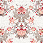 Link toSymmetric pattern, seamless backgrounds vector