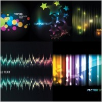 Link toSymphony 5 beautiful light vector background