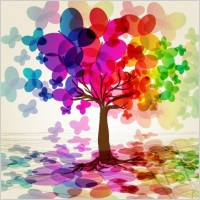 Link toSymphony butterfly tree vector