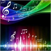 Link toSymphony music background vector