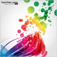 Link toSymphony of dynamic light vector background 4