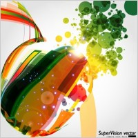 Link toSymphony of dynamic light vector background 5