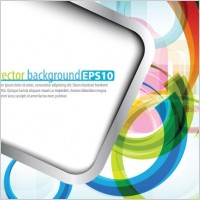 Link toSymphony of dynamic lines of the background vector 5