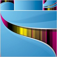 Link toSymphony of dynamic lines of the background vector