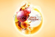 Link toSymphony of light cool christmas background vector
