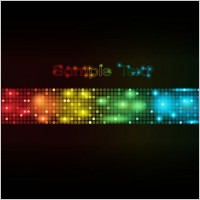 Link toSymphony of light vector dot background 3