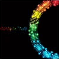 Link toSymphony of light vector dot background 4