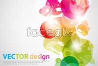 Link toSymphony of superimposed circular background vector
