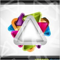 Link toSymphony triangular background vector 2
