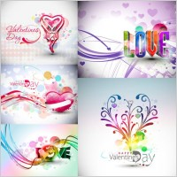 Link toSymphony valentine day decorations vector