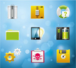 Link toSystem icons vector 6