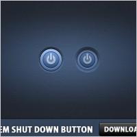 Link toSystem shut down button psd