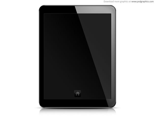 Link toTablet pc, blank screen psd template