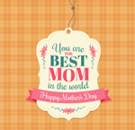 Link toTag mother's day greeting cards vector