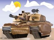 Link toTank vector illustration free