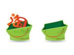 Link toTaobao bag icon vector