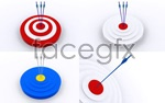 Link toTarget and arrow 01 psd